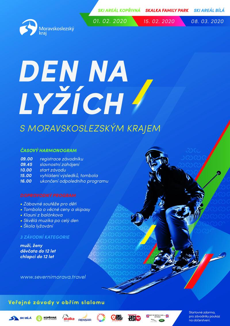 Den na lyžích